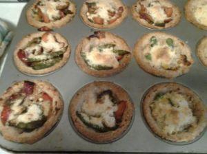 biscuit veggie tarts